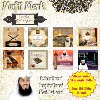 **SPECIAL** Mufti Menk DVD Collection Over 130 DVDs